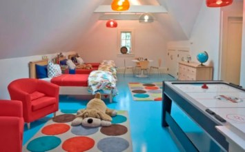 8 New Modern Colorful Area Rugs for Kid's bedrooom