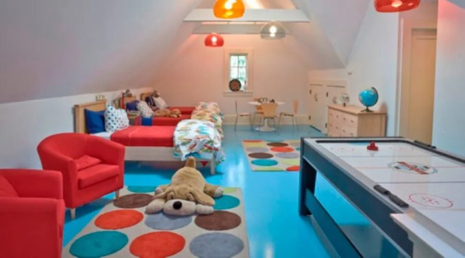 Cute Colorful Polka Dotted Rug
