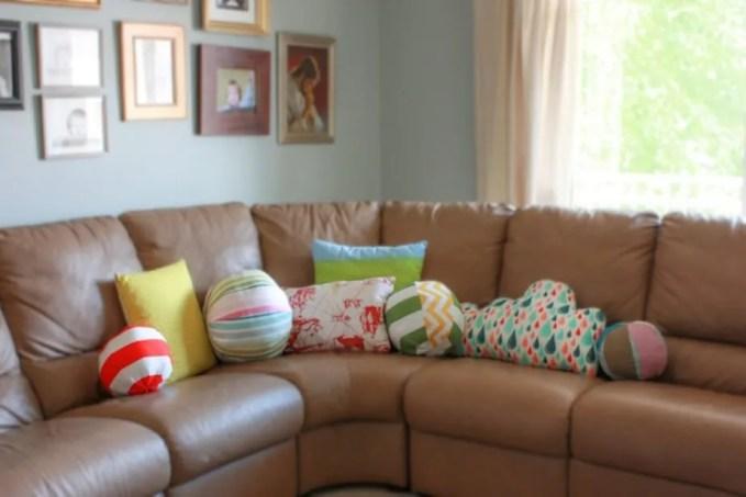 Fun Shape Accent Pillows