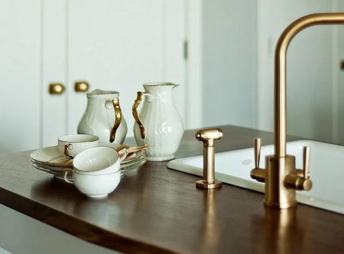 GOlden Glint Faucets