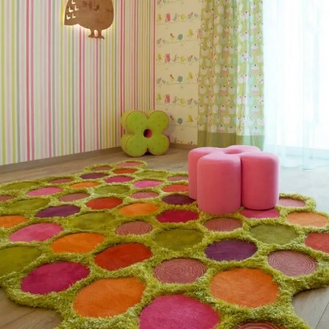 Outstanding COlorful Area Rug