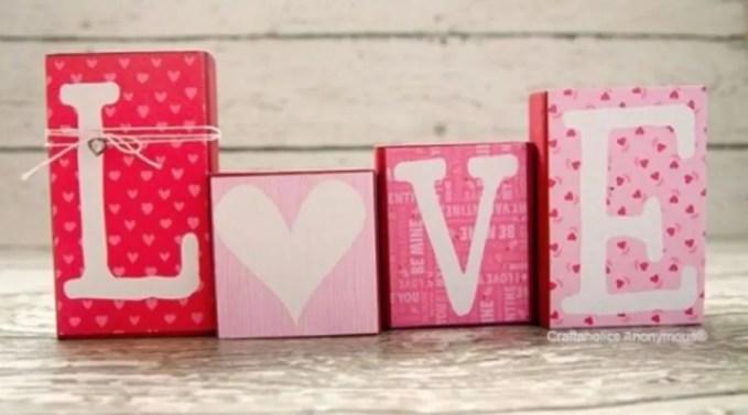 Pink Love Decoration