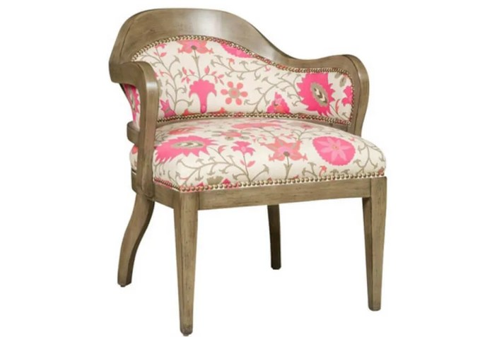 Shabby Chic FLoral Accent Chair