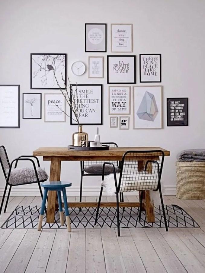 Sharp High Contrast Dining Room