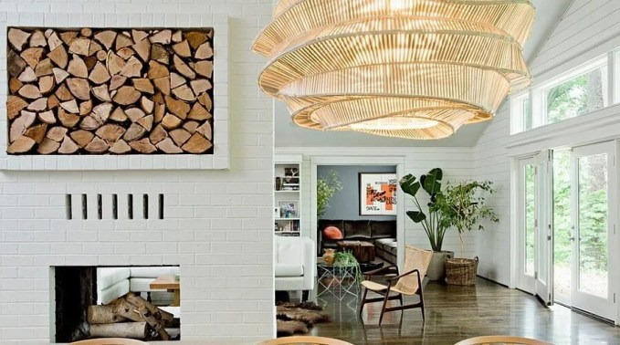 Smart firewood storage