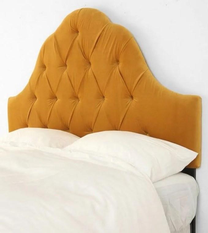 Tangerine Tufted Headbord