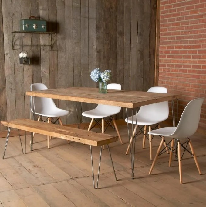Amazing Reclaimed Wood Dining Table