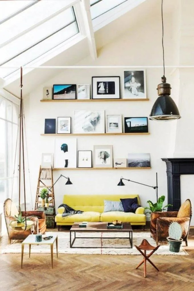 Casual Yellow Sofa Design