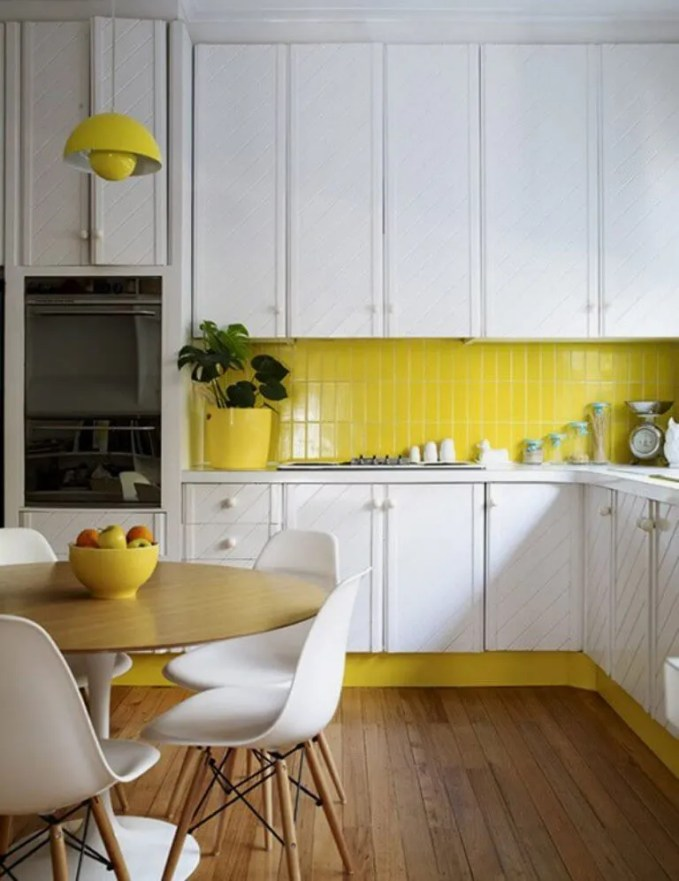 Cozy Kitchen with Subway Tile
