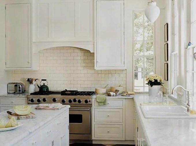 Elegant Kitchen with Subway Tile