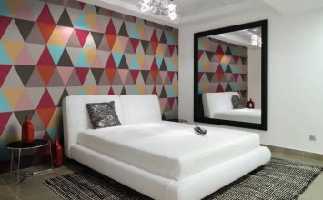 Geometric Wallpaper In 10 Bold Bedroom Ideas