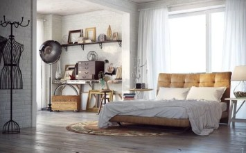 7 Industrial Chic Bedroom Design Ideas To Inspire