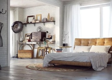 7 Industrial Chic Bedroom Design Ideas To Inspire