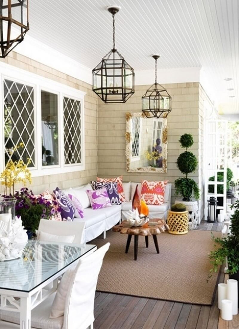 amazing spring porch decor ideas 10 - Porch Decor