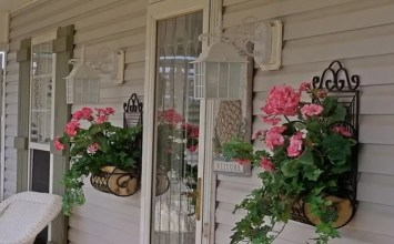 Welcome Spring Into Your Front Porch- 7 Fresh Inspiring Decor Ideas
