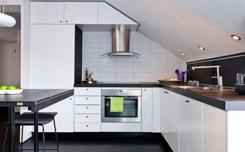 11 Superb Attic Kitchen Designs