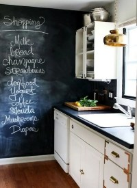 9 Super-Cool Kitchen Designs with Chalkboard Wall - https ...
