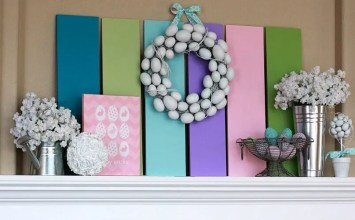 8 Lovely Ideas for a Charming Easter Mantel Design