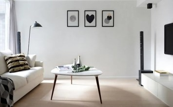 13 Dynamic Black and White Living Room Design Ideas