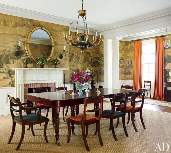 Bold Farmhouse Dining Room