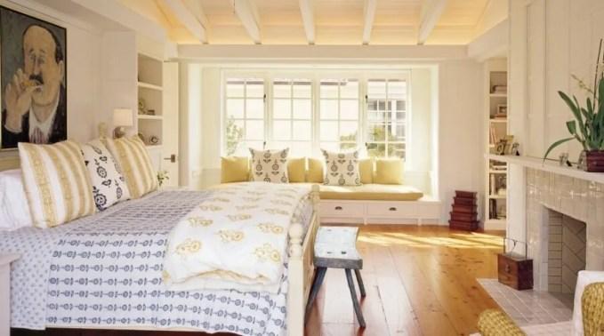 Breezy Serene Farmhouse Bedroom