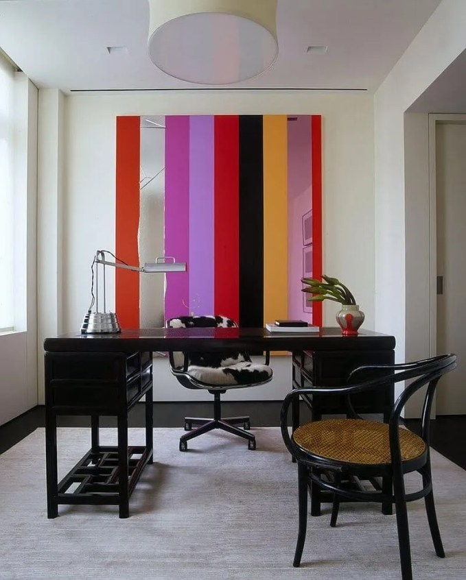 Colorful Accent Wall