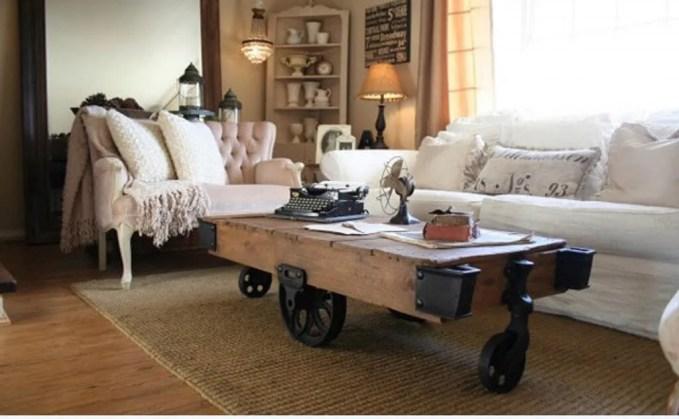 Inovative HSaby Chic Living Room