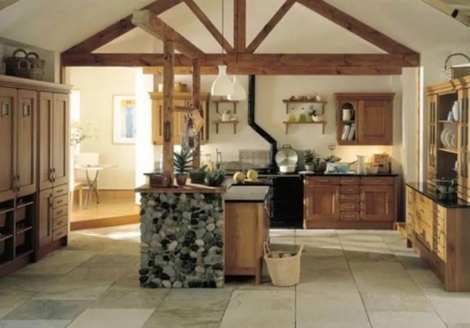 Warm Farmhouse Kitchen