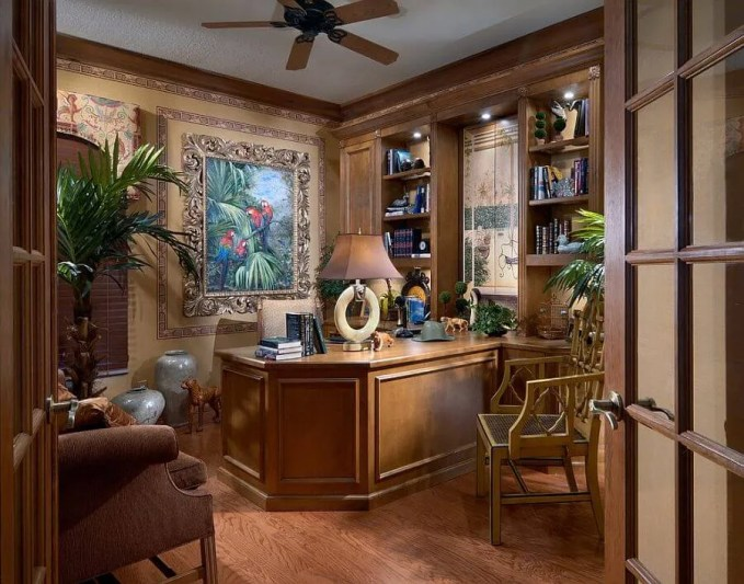 Exotic Home Office