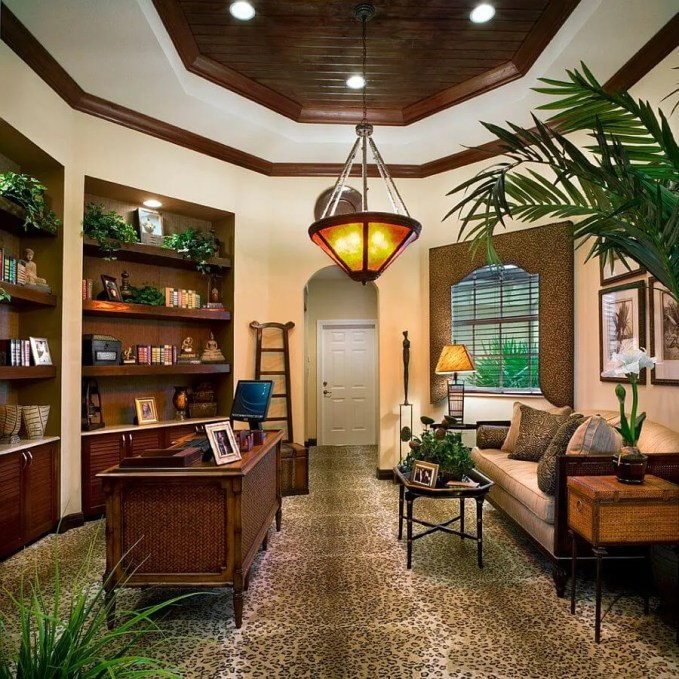 Greenery Home Office