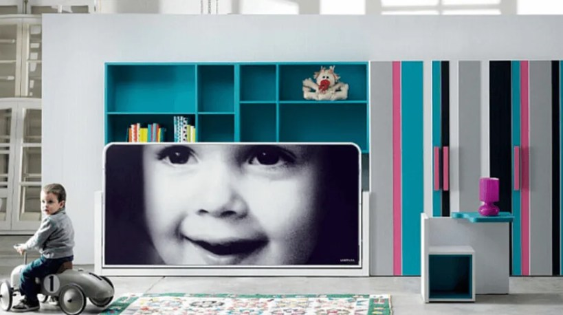 Milano-Smart-Living-Bed-with-Mural-Closed