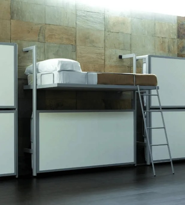 Minimalist-Fold-Down-Bunk-Beds