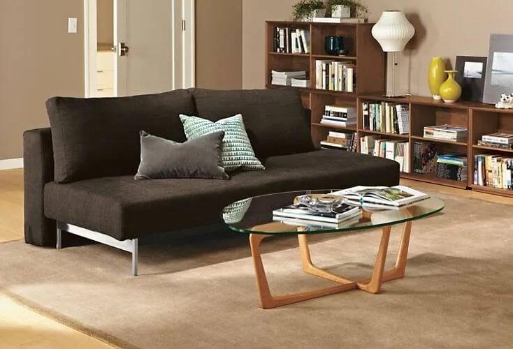 Black Contemporary Sofa