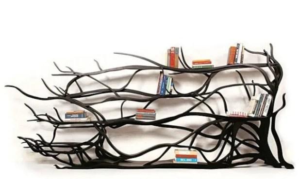 Cool Tree Shaped Bookshelf