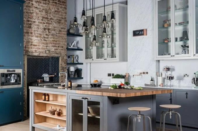 Stunnin Contemporary Industrial Kitchen Design