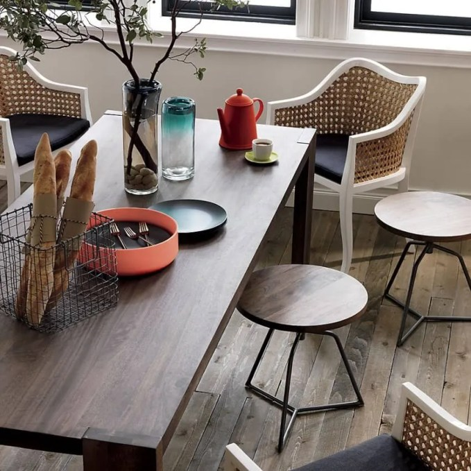 Wooden Backless Stools