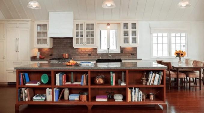 Beatuiful Kitchen island with Extra Storage