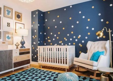 10 Soothing and Chic Blue Nursery Design Ideas