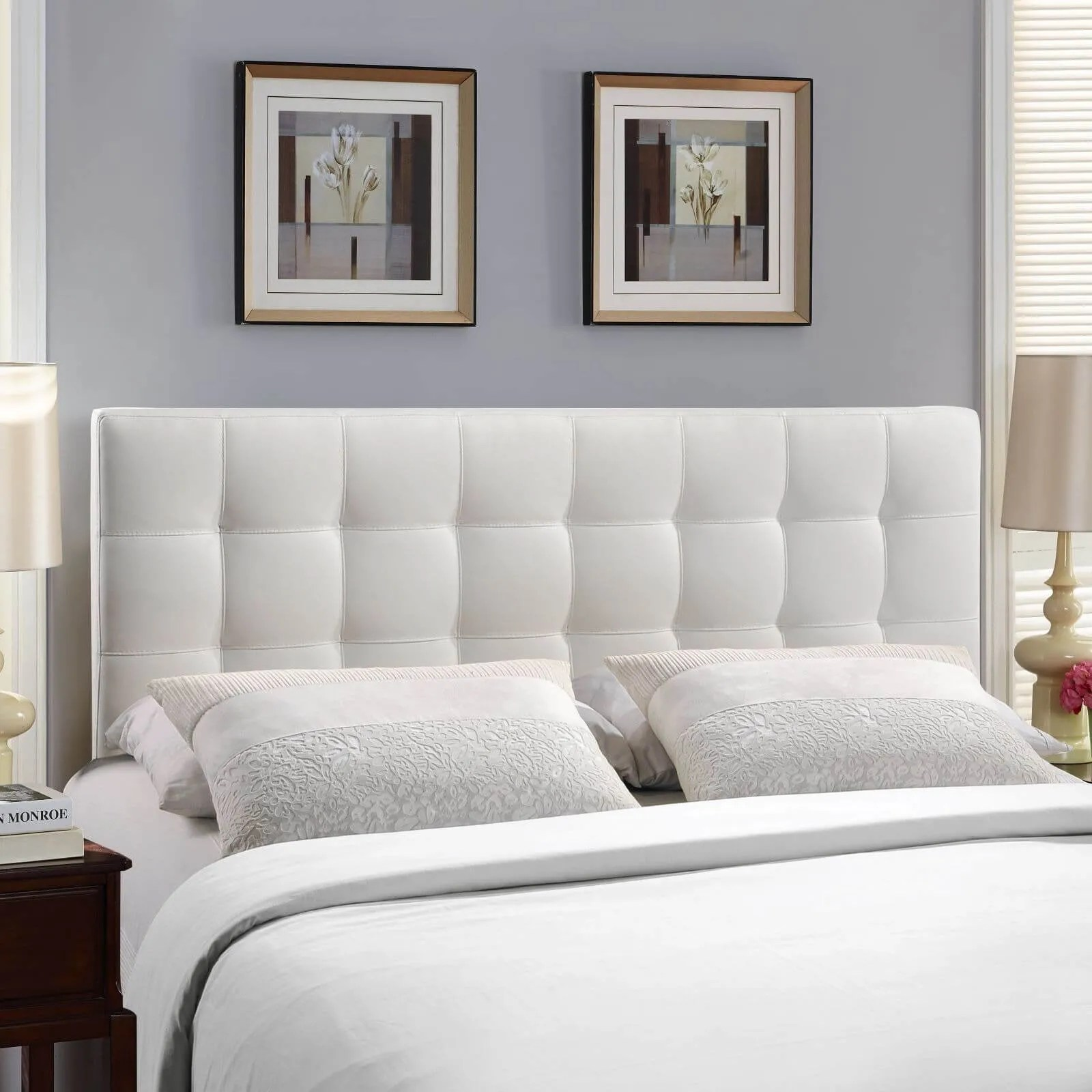 chic tufted headboard design ideas for modern bedroom  https  - modern tufted headboard