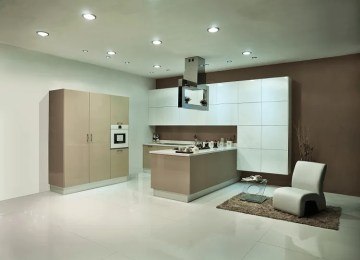 Smart space utilization in modular kitchens