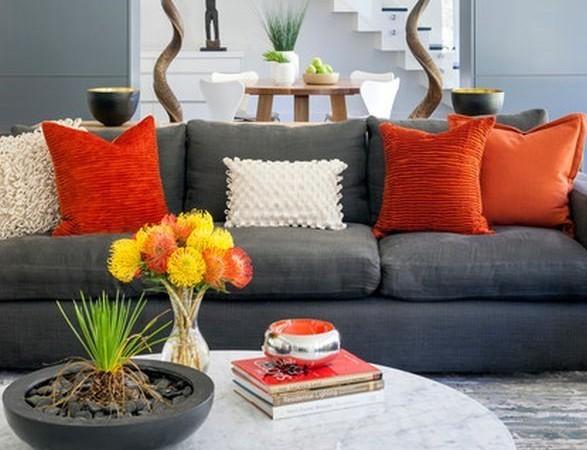 oranje decoratie huiskamer Archieven  Interieur Insider
