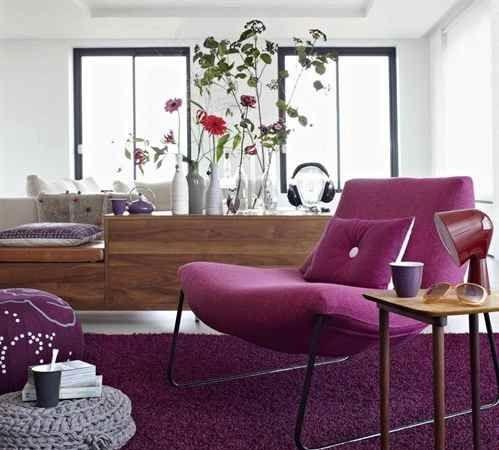 Paarse slaapkamer ideeen  Interieur Insider
