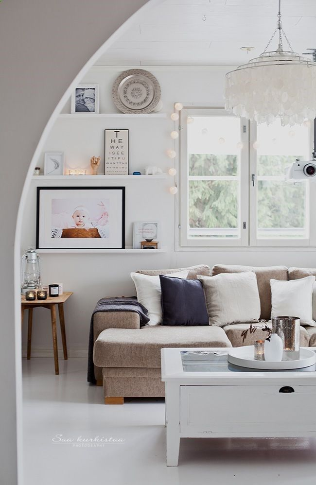 Beige woonkamer  Interieur Insider