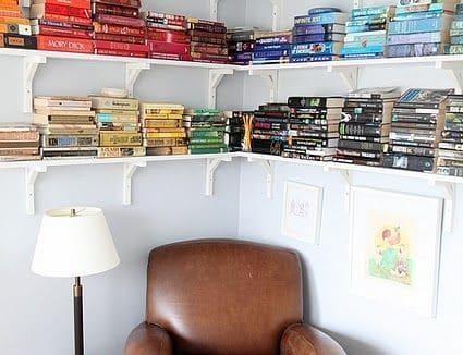Creatief boeken opbergen  InteriorInsidernl