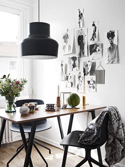 Foto collage muur  InteriorInsidernl