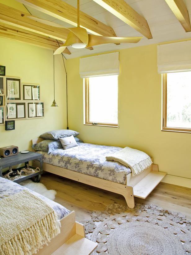 Gele slaapkamer  Interieur Insider