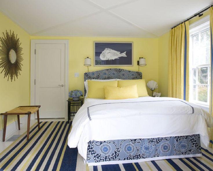 Gele slaapkamer  InteriorInsidernl