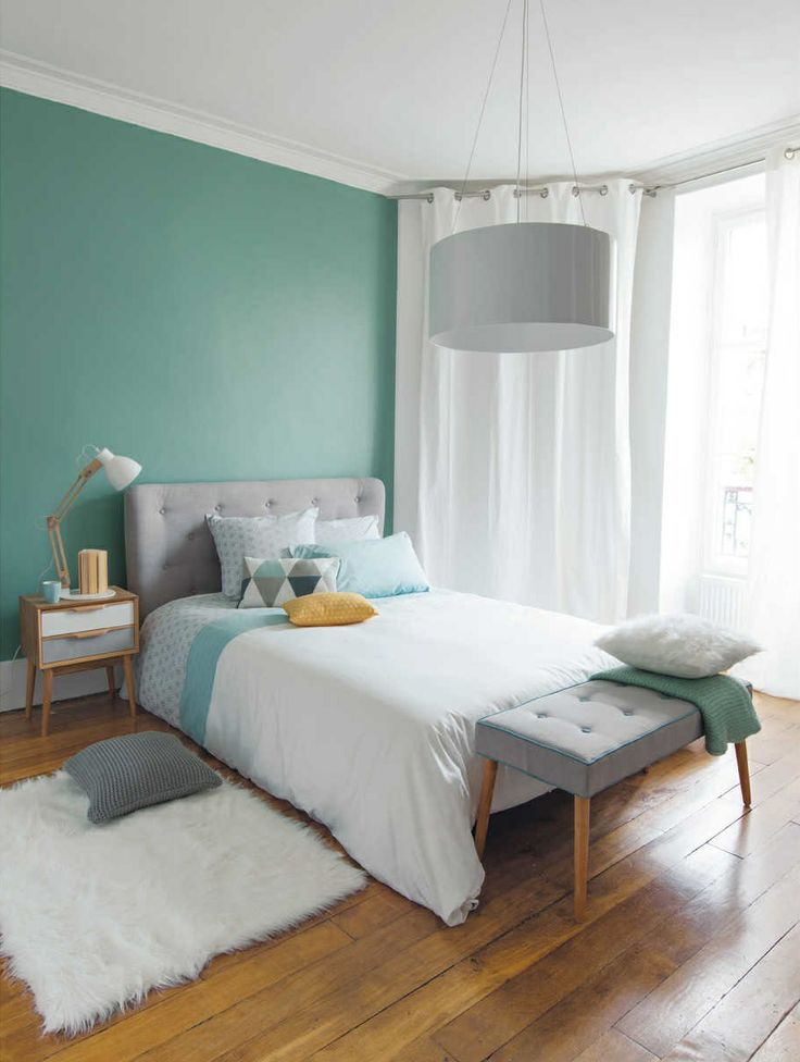 slaapkamer kleuren muren - boisholz, Deco ideeën