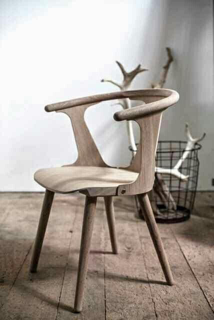 Houten stoelen  InteriorInsidernl