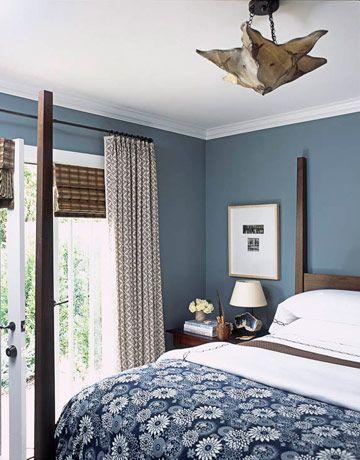 Blauwe slaapkamer  InteriorInsidernl